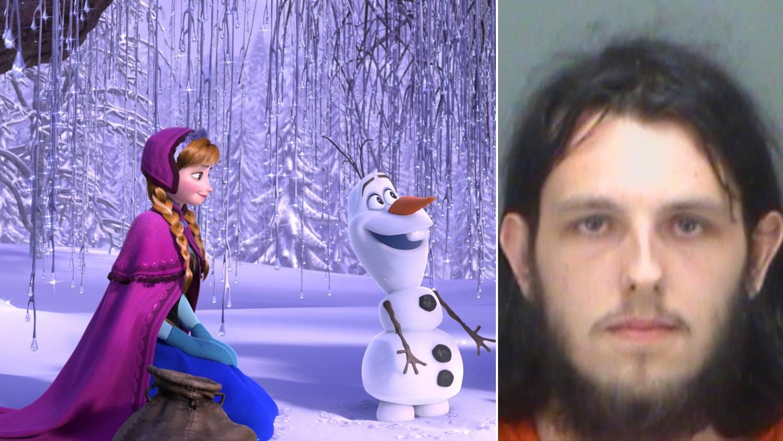 Egy floridai férfi megpocsékolta Olafot a Jégvarázsból egy közértben