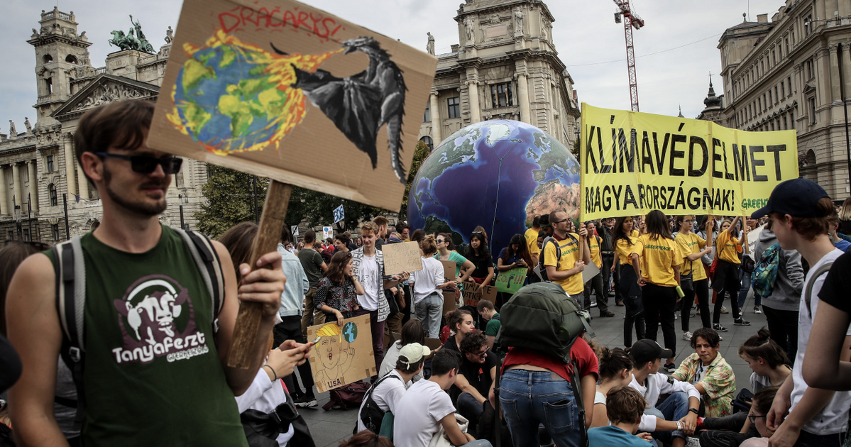 Klímasztrájk és szabad oktatás melletti tüntetés is lesz pénteken