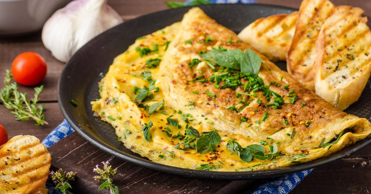 omlett magas vérnyomás esetén