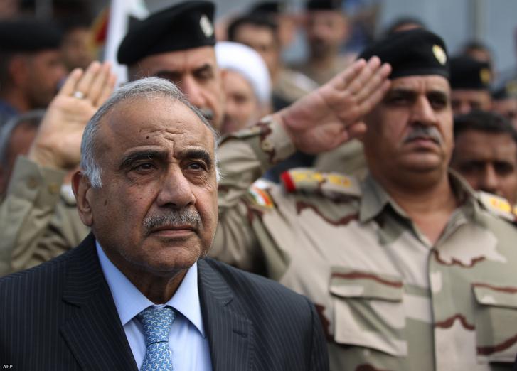 Ahogy ígérte, lemondott az iraki kormányfő, a tüntetések pedig folytatódtak