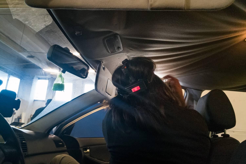 Autó tetőkárpit javítás budapest