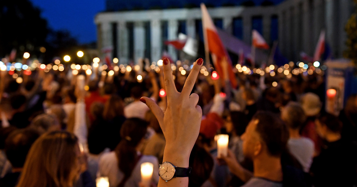 Index - Külföld - Tizenhét EU-s országból vonulnak majd bírók a varsói tüntetésen