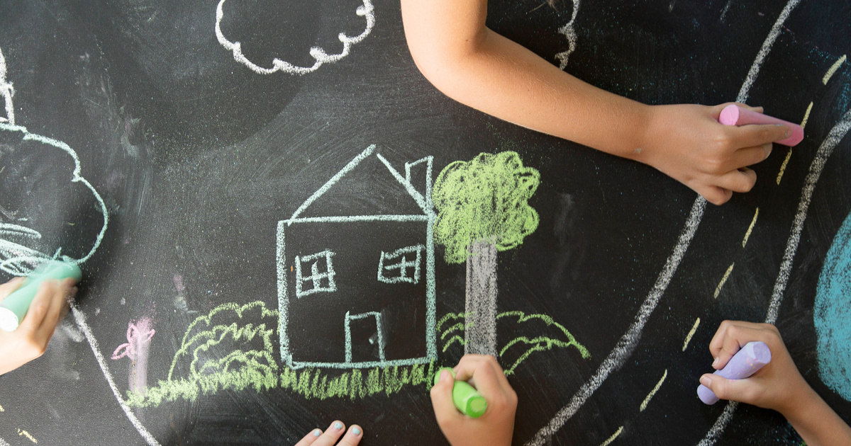 Milyen színeket használ a gyerek a rajzon? A lelki egyensúlyáról árulkodik