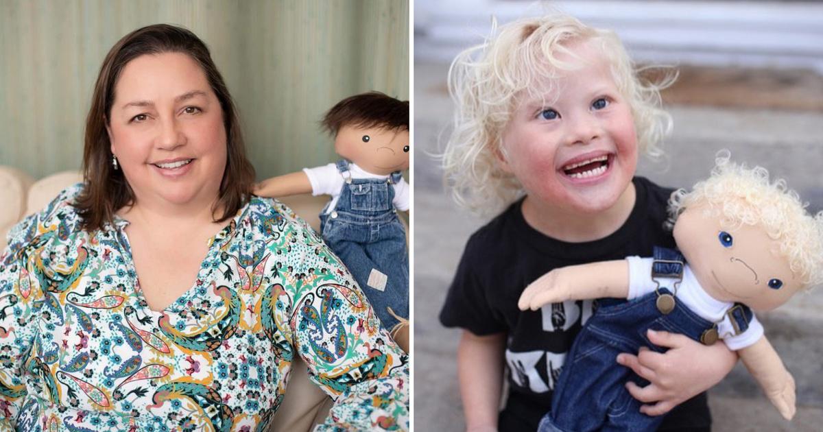 Súlyos beteg gyerekeknek saját hasonmás babáit készíti el a nő: csodálatos hatással van rájuk