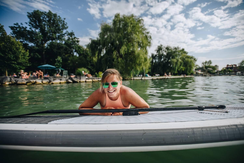 Cholnoky Sára szörfös olimpikon: Aki egyszer ráérez az ízére, függő lesz
