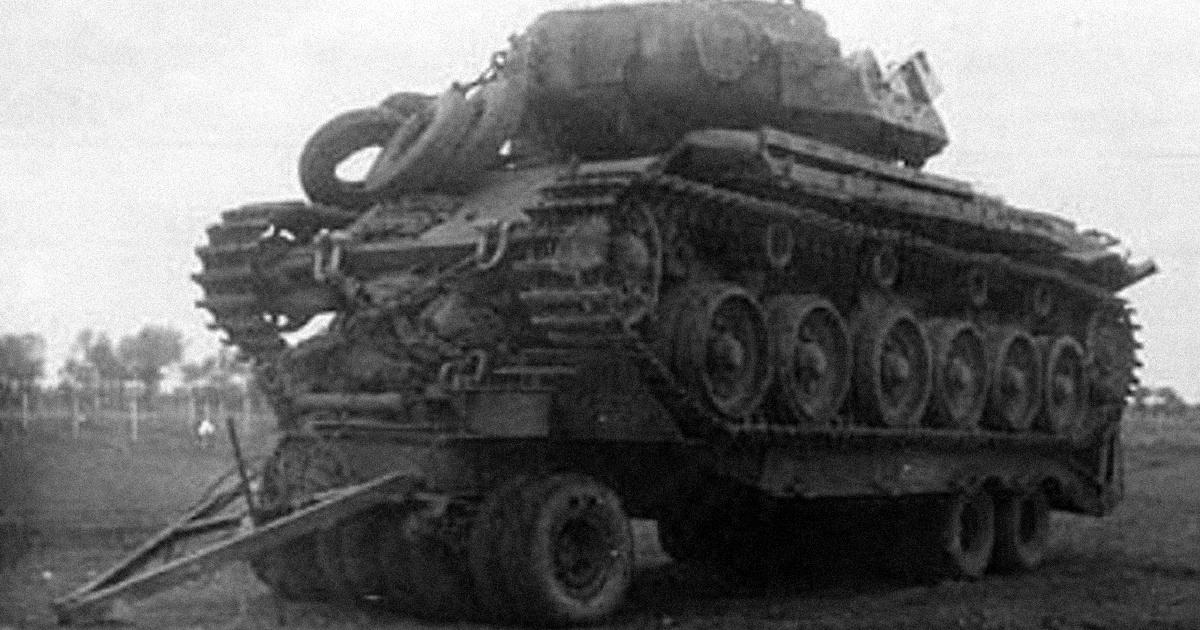 A tank, ami túlélt egy atomrobbanást, aztán Vietnámba ment harcolni