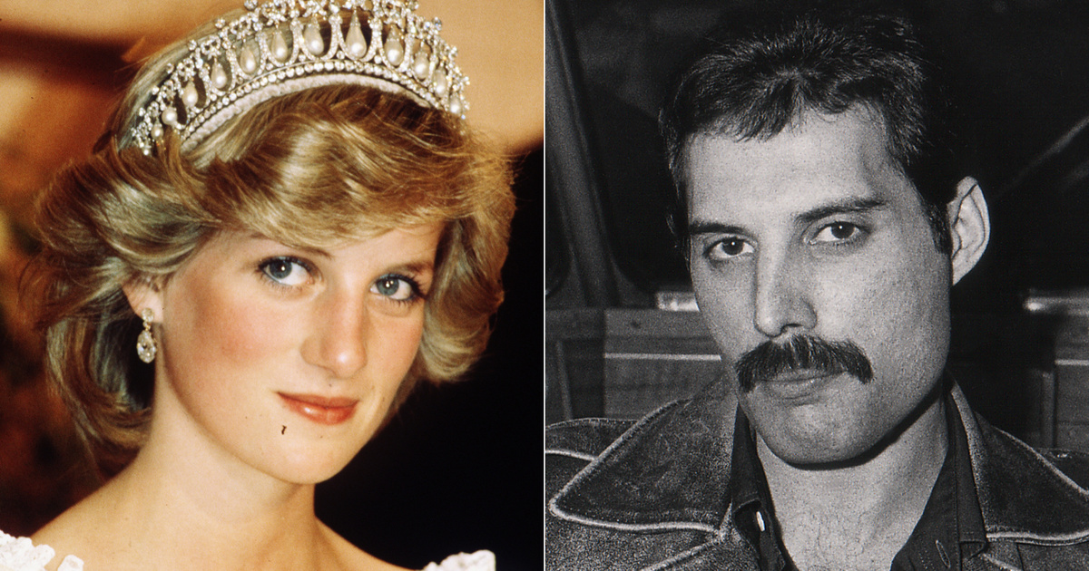 Diana hercegő titokban szökött ki a palotából: Freddie Mercuryval rúgott ki a hámból