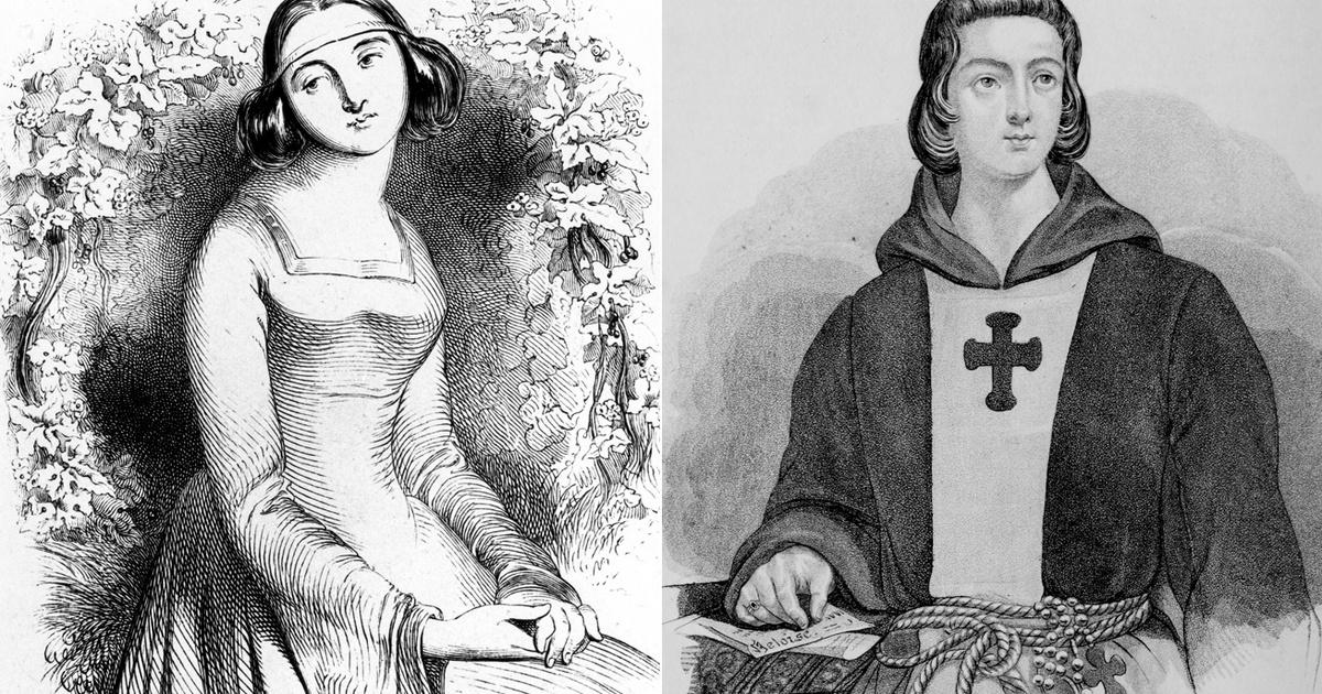A középkor egyik leghíresebb szerelmi története az övék: haláluk után egyesülhetett csak újra Héloïse és Abélard