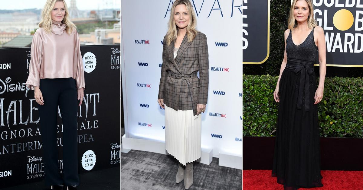 A gyönyörű Michelle Pfeiffer 62 évesen is hihetetlenül stílusos: nőies szettjeivel mindenkit elkápráztat