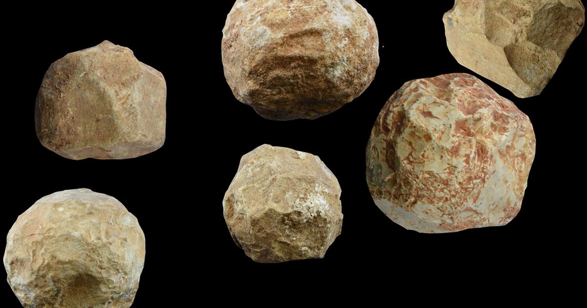 2 millió éves evőeszközök: a tudósok rájöttek, mit ettek kőgolyókkal az őseink