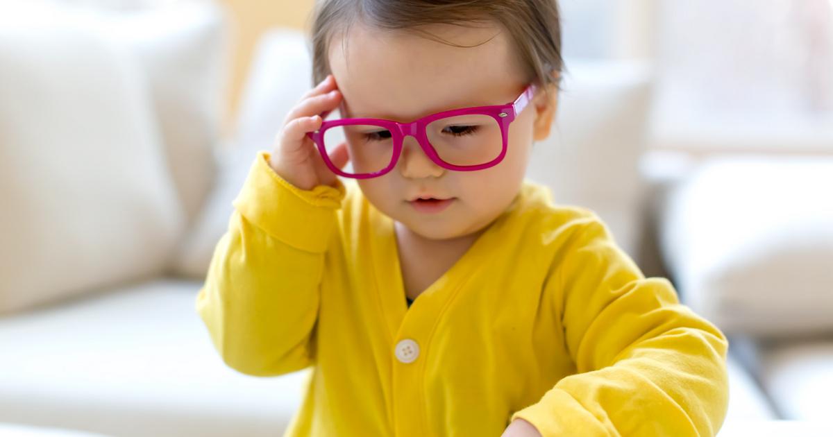 az egyéves gyermek látása gyenge