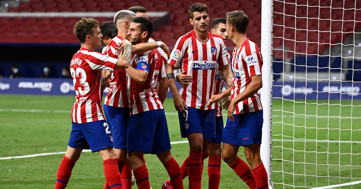 Koke 18 méterről lőtt gólt, nyert az Atlético