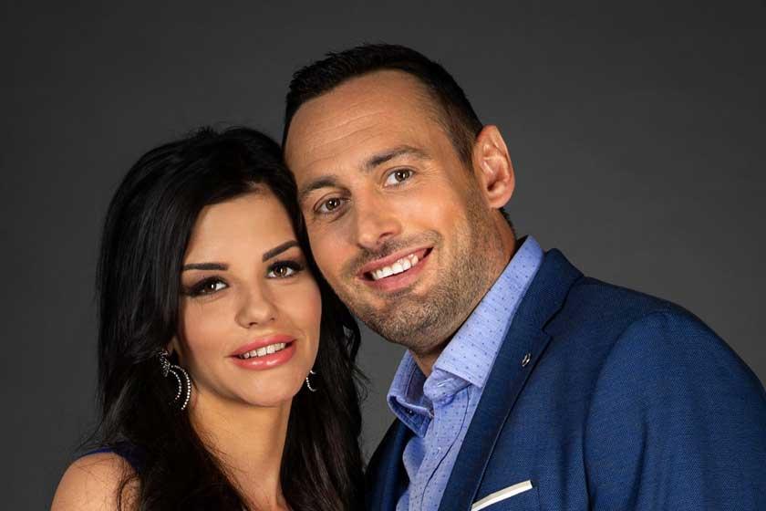 Fecsó 16 évvel fiatalabb párja szexi ruhában debütált – A TV2 új műsorában szerepelnek