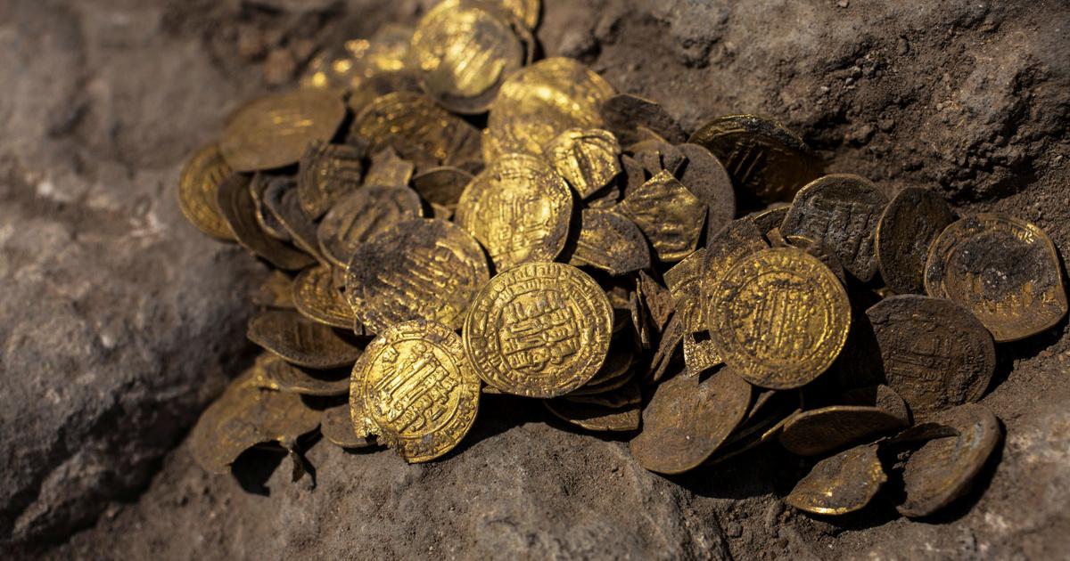 Több mint ezer éves iszlám aranyérméket találtak Izraelben