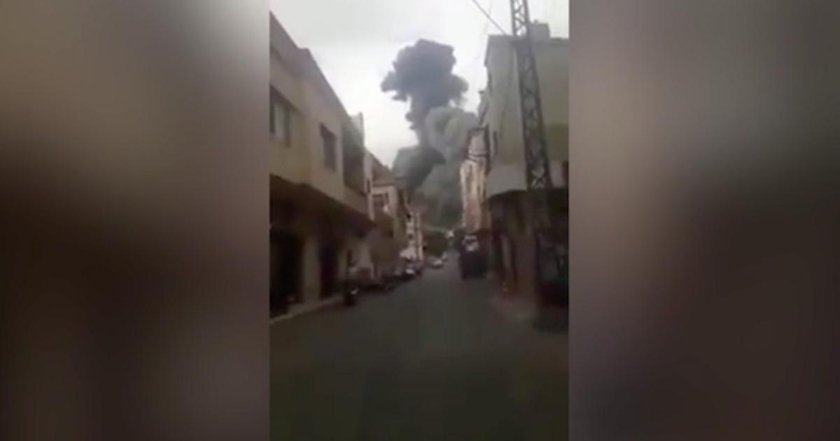 Felrobbant a Hezbollah egyik fegyverraktára Libanonban