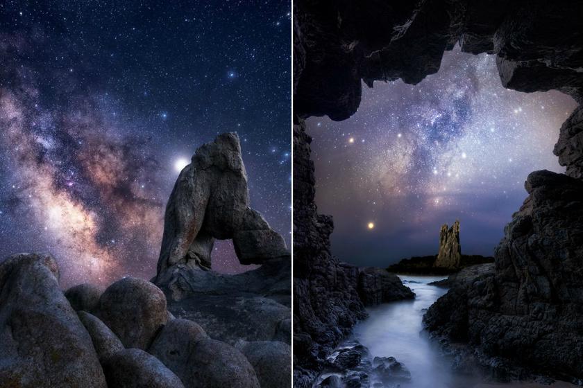 Éveken át fotózta a csillagos eget: lélegzetelállító képeket készített a férfi