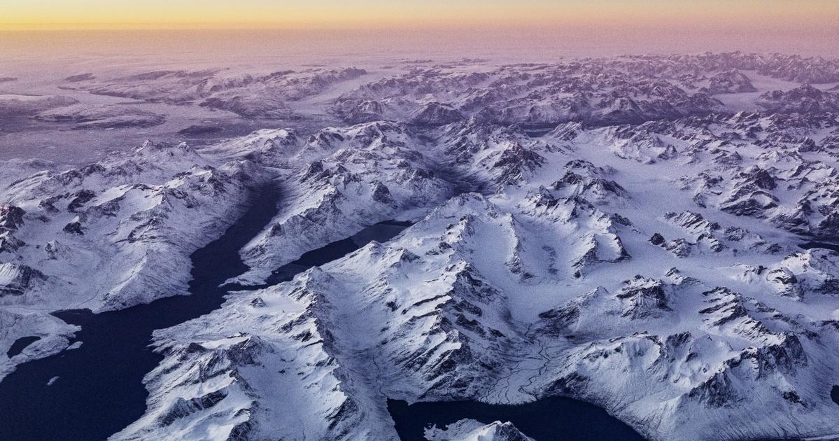 Nem mindennapi képződményre bukkantak a grönlandi jégtakaró mélyén