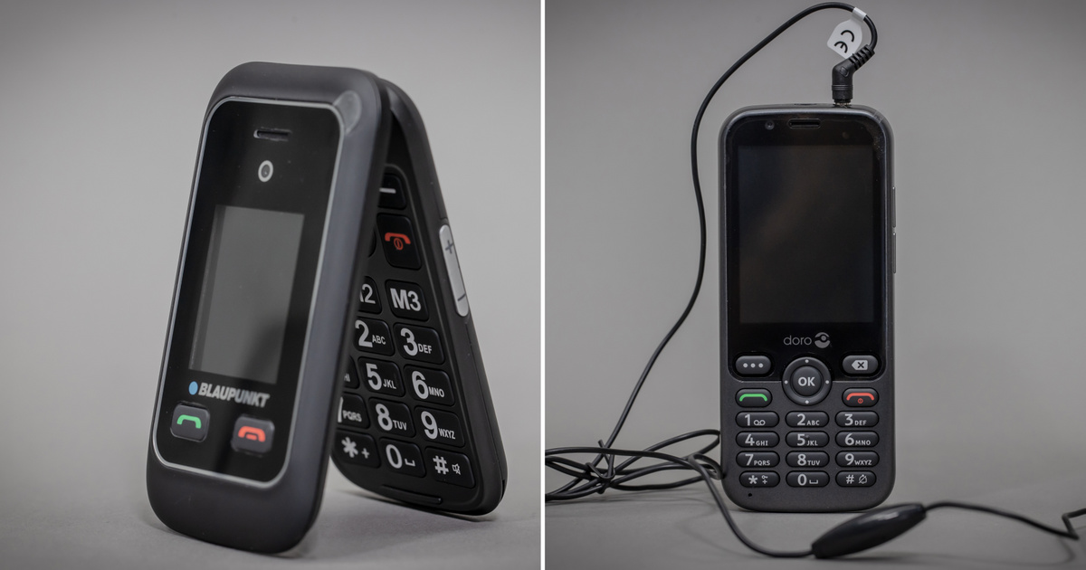 Isten hozott a kilencvenes években! - Teszt: Doro 7010 és Blaupunkt Senior Phone BS06