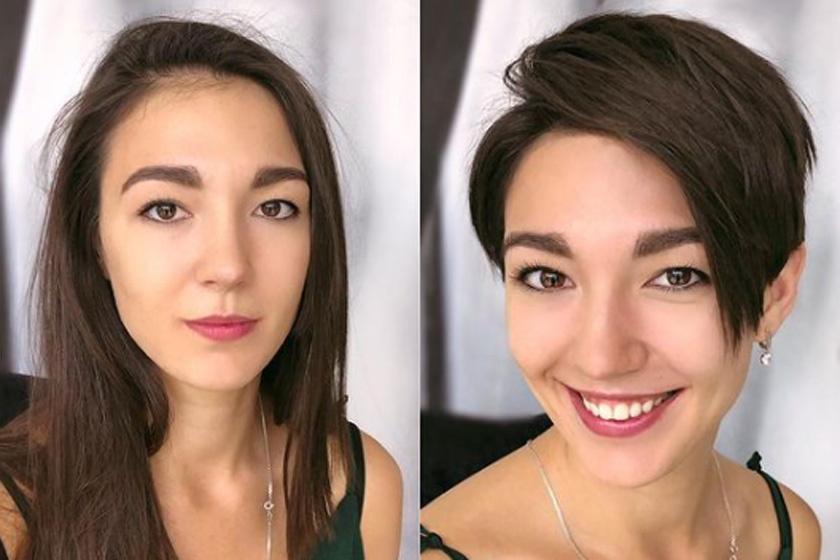 Hihetetlenül nőiesek lettek, pedig hosszú haj helyett rövidre váltottak: előtte-utána fotókon az átalakulások