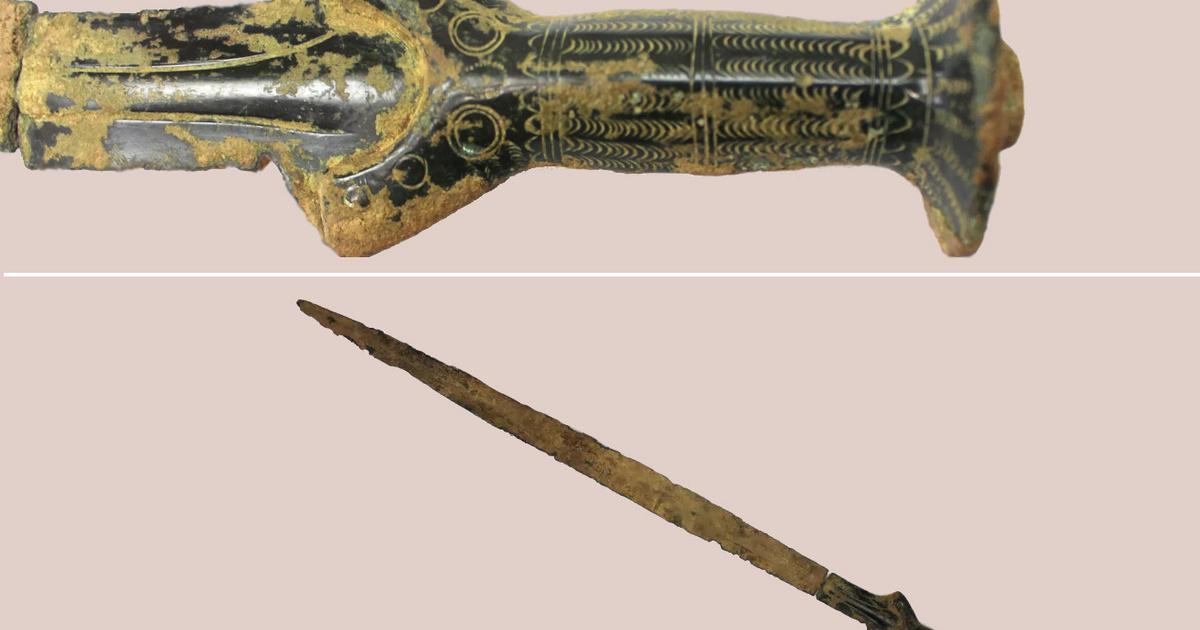 Gombászni indult a férfi, álomszép, több ezer éves kardot talált: 3 ősi kincs, amit gyanútlan emberek fedeztek fel