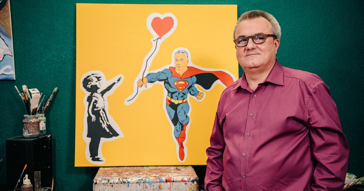 Superman és Orbán Viktor egy képen