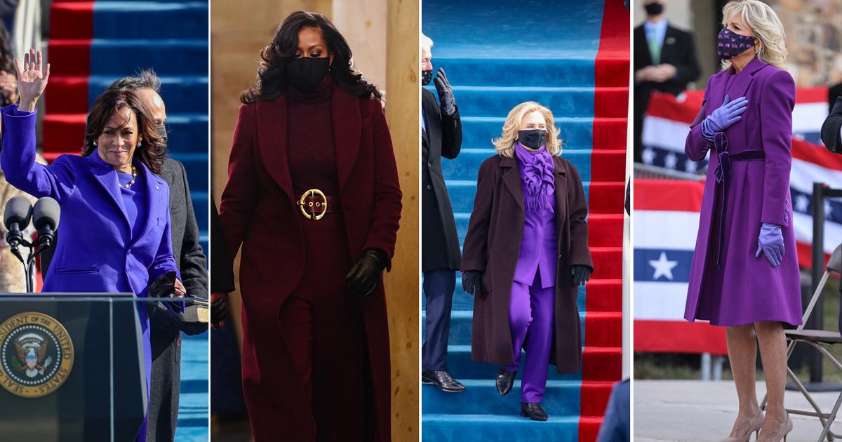 Ezért voltak a világ legbefolyásosabb női mind lilában: fontos üzenetet hordoznak a ruhák színei