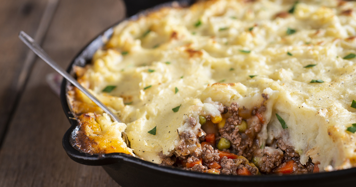 Szaftos pásztorpite sok zöldséggel: ínycsiklandó, laktató fogás angol recept szerint