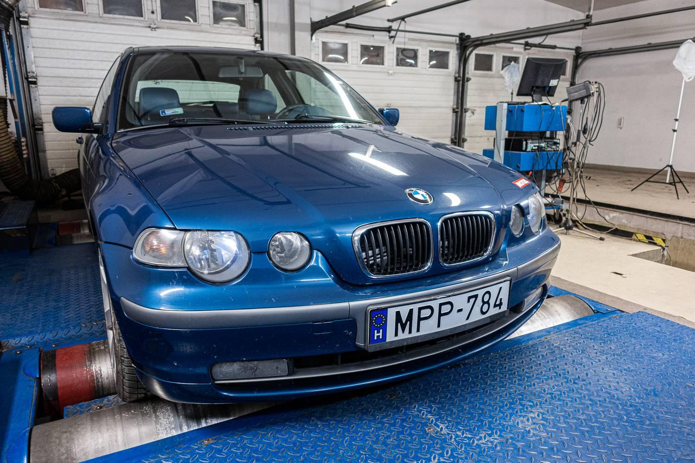 350 ezer kilométer, nem kímélve. Bírja a BMW 325ti? - Totalcar Erőmérő: BMW 325i Compact E46 – 2001.