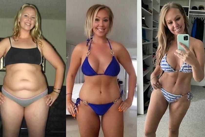 8 nő előtte-utána fotókon: megmutatták az erősítő és a kardioedzés közötti különbséget