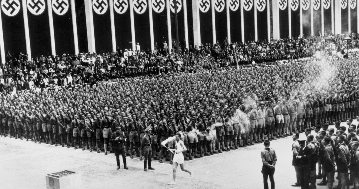 Így készült a Harmadik Birodalom az olimpiára: a stadionon dolgozókat a piramisépítőkhöz hasonlította a propaganda