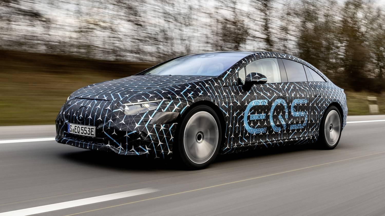 Hivatalos: 770 kilométert mehet egy töltéssel a Mercedes EQS