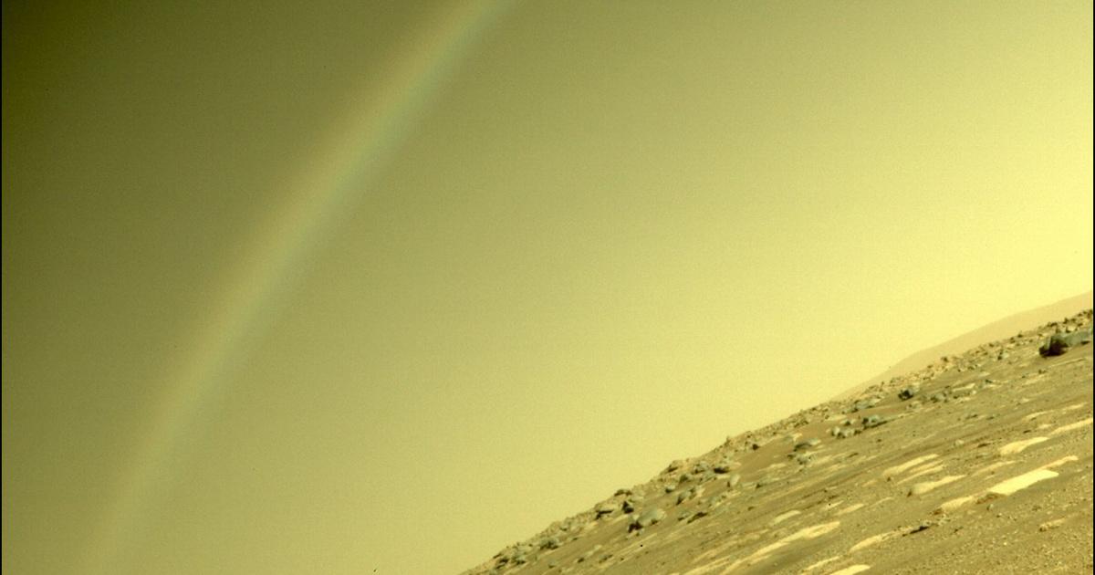 Szivárvány a Marson? Lenyűgöző felvételeket készített a marsjáró