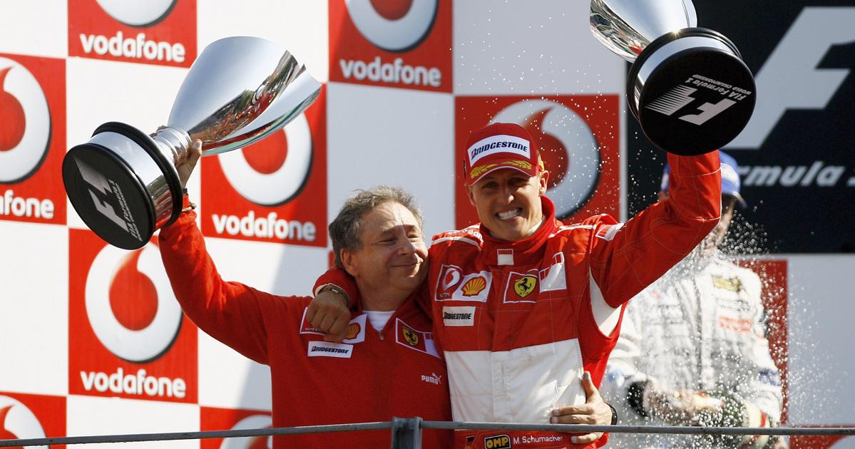 Schumacher együtt néz futamokat korábbi ferraris főnökével