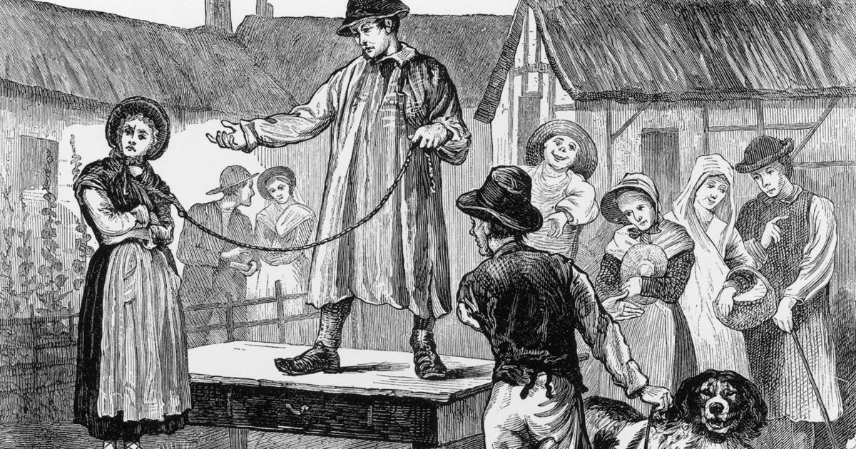 Aukción árulták feleségeiket az angol férfiak az 1600-as évektől: a válás alternatíváját jelentette a bizarr szokás