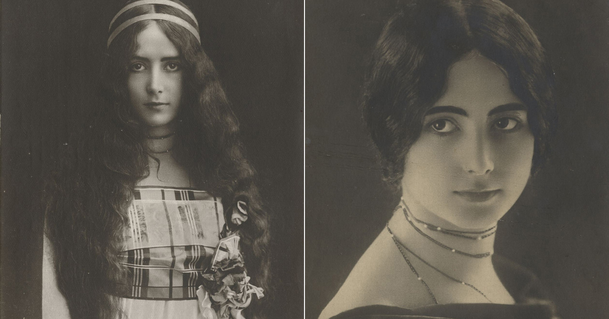 Sztrájkoltak a svéd nők, mert nem hordhattak olyan frizurát, mint Cléo de Mérode: a világ első fotómodelljének története