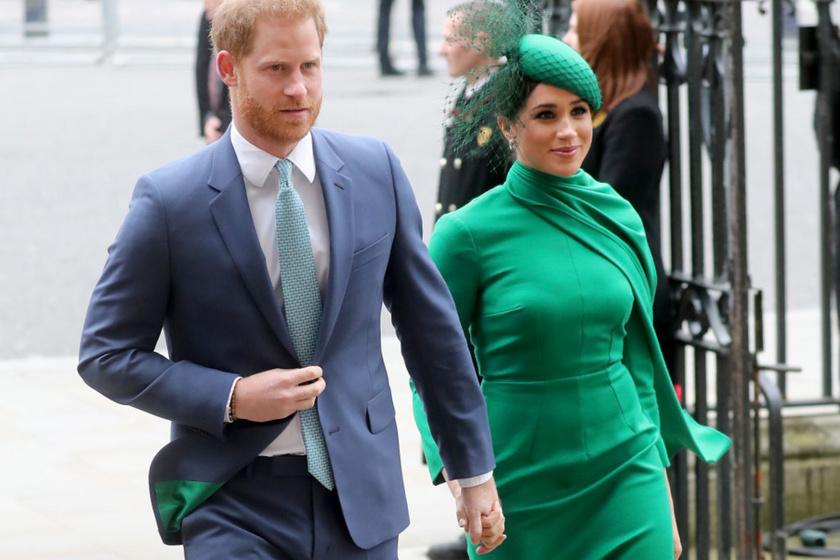 Harry és Meghan kislánya megszületett: a királynő és Diana után kapta a nevét