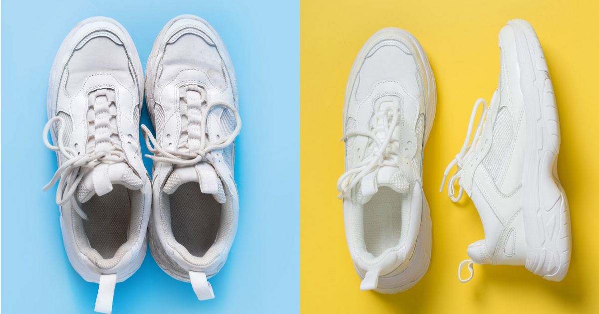 5 szuper házi trükk, amivel újra patyolat lesz a fehér sportcipő: a leghatásosabbakat vesszük sorra