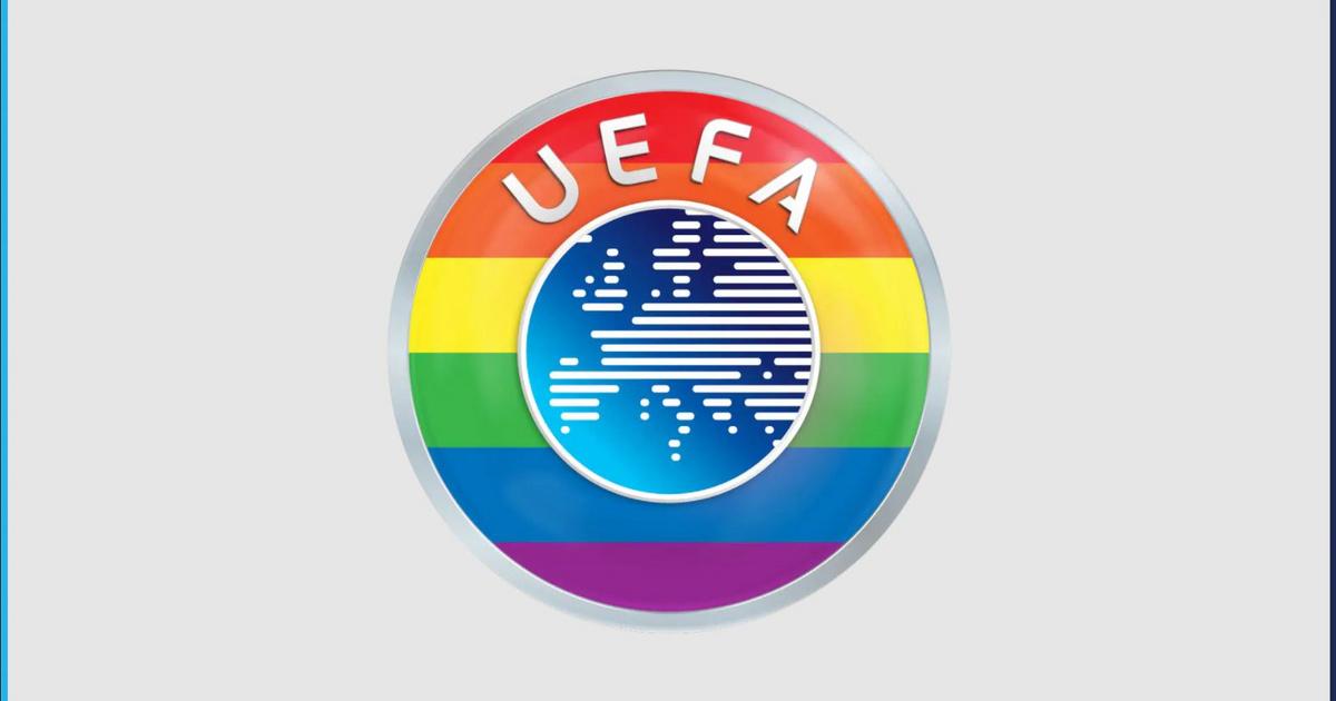 A müncheni stadion nem, de az UEFA logója lehet szivárványos