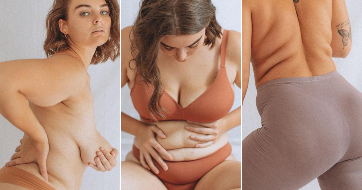 Úgy mutatja meg a nők testét a fotós, ahogy ritkán látni az Instán: közeli képeken a tökéletlennek vélt részletek