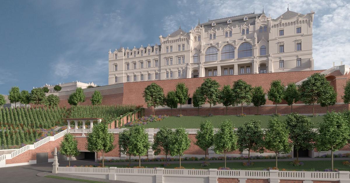 Megkezdődik a Várban József főherceg palotájának rekonstrukciója