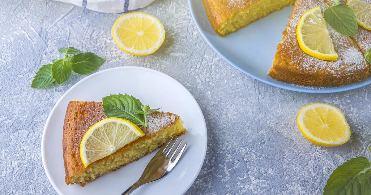 Pillekönnyű görög citromos süti: a joghurttól ennyire puha a tésztája