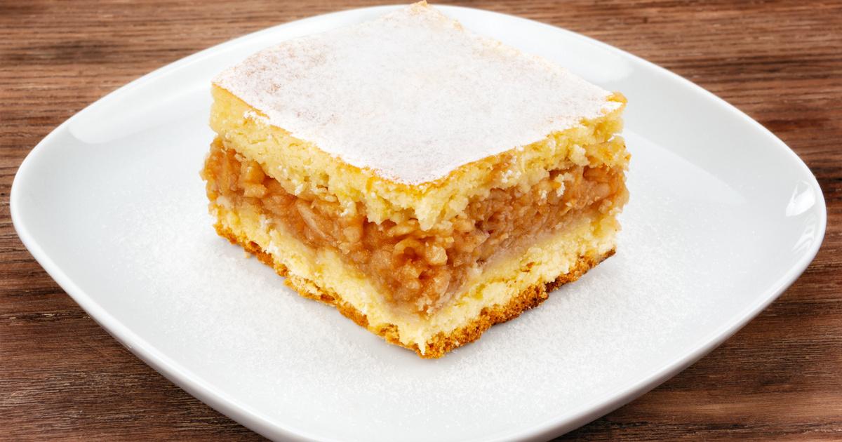 Megunhatatlan, falusi almás béles: vastag töltelékkel, omlós tésztával