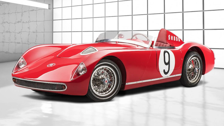 Ez a Škoda Le Mans-ra készült, de a hidegháború miatt nem mehetett