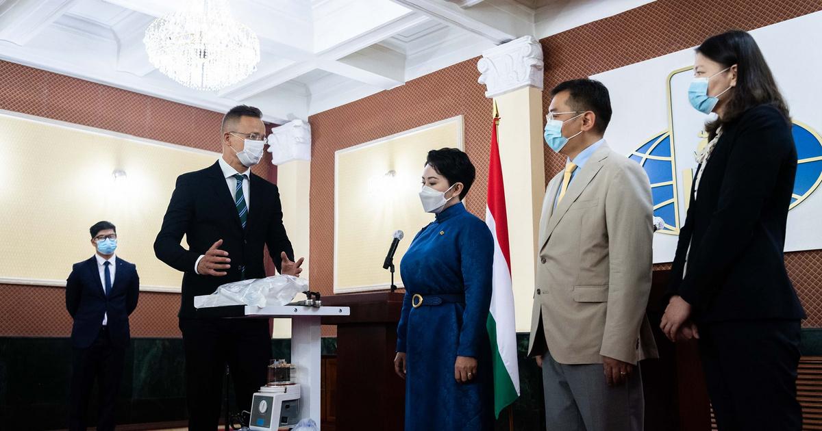 Magyarország lélegeztetőgépeket adományozott Mongóliának