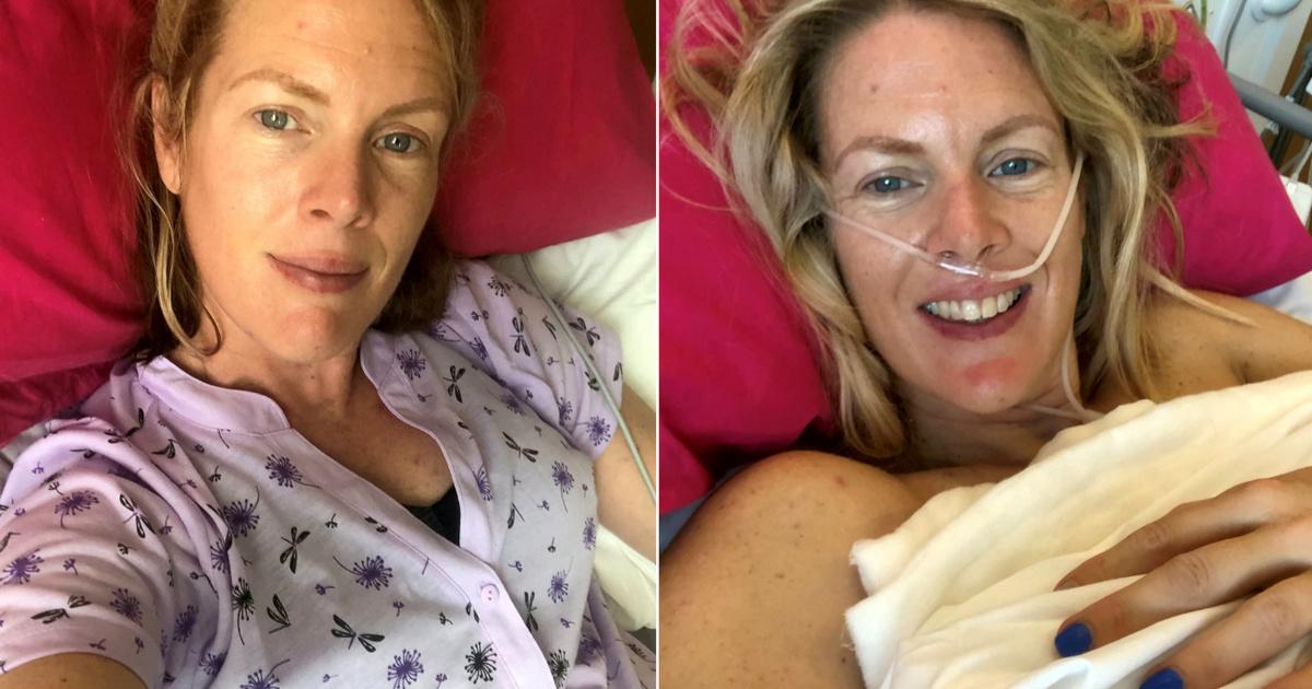 Rácáfolt az orvosok jóslataira a fiatal nő: 4. stádiumú mellrákból épült fel Heidi Loughlin