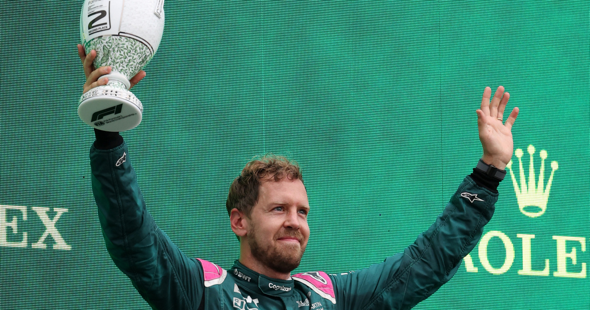 Vettelt kizárták, elvették a második helyét a Magyar Nagydíjon