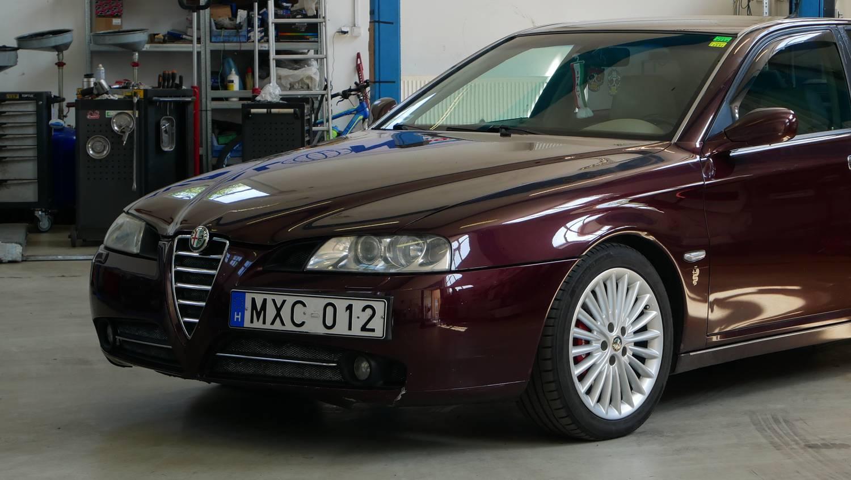 Alfa 166: a szív választása? - Fotelnepper: Alfa Romeo 166 2.4 JTD – 2004.