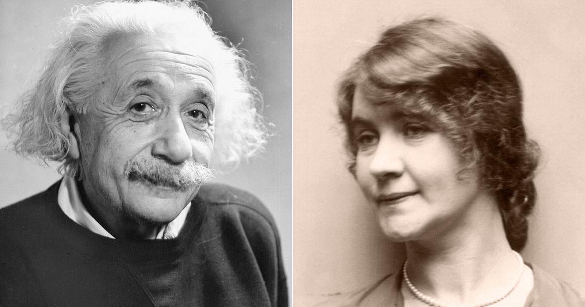 Albert Einsteint egy férjezett szovjet kémnő csábította el: Margarita Konenkovával később is sokáig leveleztek
