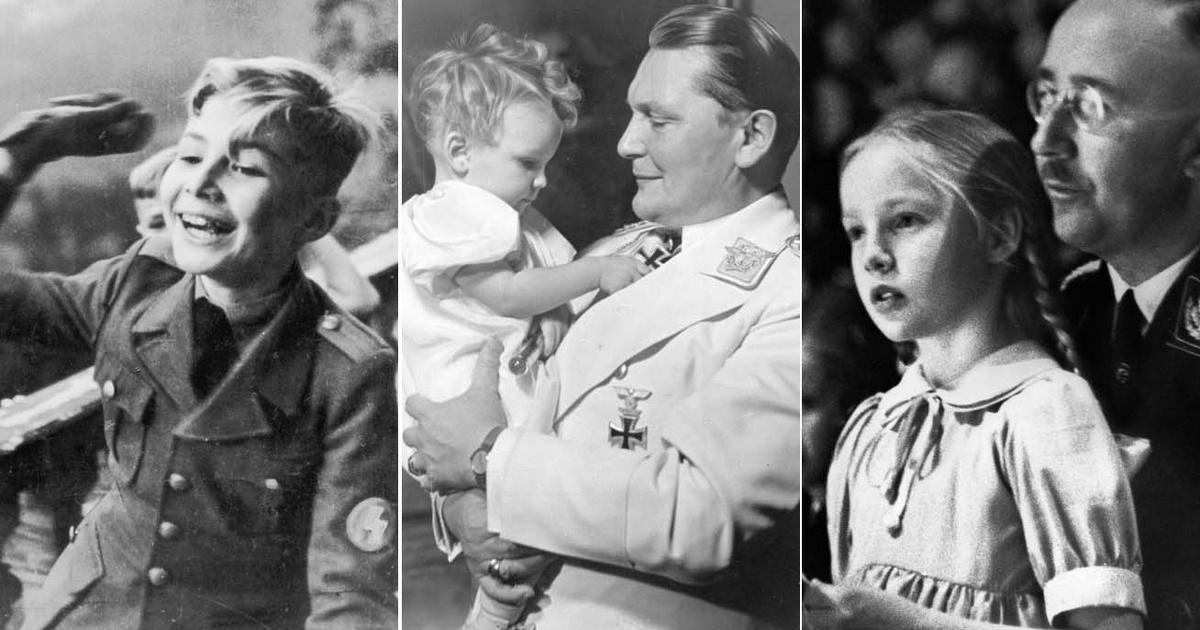 A nagy náci vezetők gyermekeinek élete: volt, aki éltette apja eszméit, más mélyen szégyellte azokat