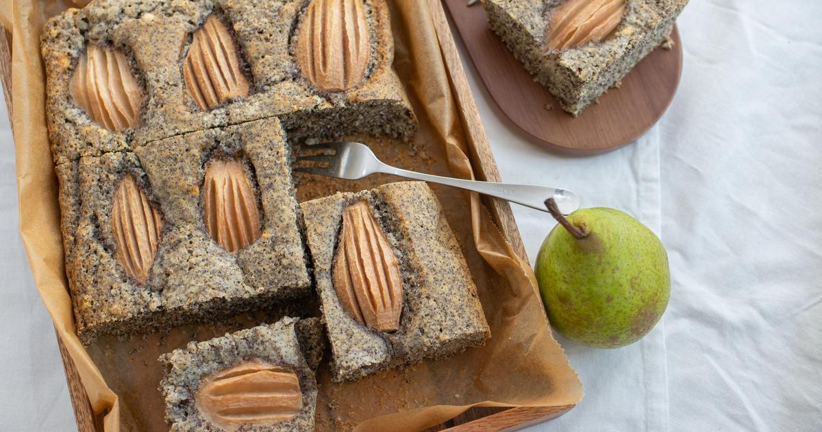 Mákos-körtés kevert süti: csak összekevered, és sütheted is